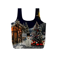Christmas Landscape Full Print Recycle Bags (s)
