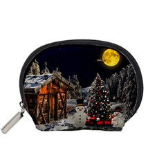 Christmas Landscape Accessory Pouches (small)