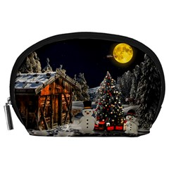 Christmas Landscape Accessory Pouches (large)