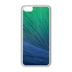 Sea Wave Water Blue Apple Iphone 5c Seamless Case (white)