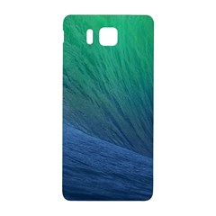 Sea Wave Water Blue Samsung Galaxy Alpha Hardshell Back Case