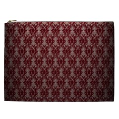 Red Vintage Cosmetic Bag (xxl)