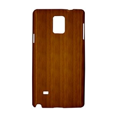 Simple Wood Widescreen Samsung Galaxy Note 4 Hardshell Case
