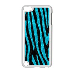 Skin4 Black Marble & Turquoise Marble (r) Apple Ipod Touch 5 Case (white)
