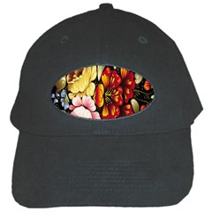 Ultra Texture Flowers Black Cap