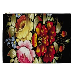 Ultra Texture Flowers Cosmetic Bag (xxl)