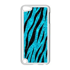 Skin3 Black Marble & Turquoise Marble (r) Apple Ipod Touch 5 Case (white)
