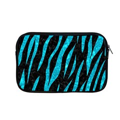 Skin3 Black Marble & Turquoise Marble Apple Macbook Pro 13  Zipper Case