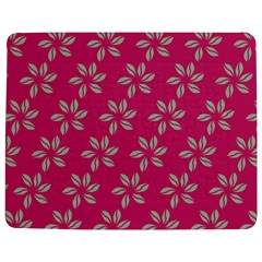 Flowers Green Light On Fushia Jigsaw Puzzle Photo Stand (Rectangular)