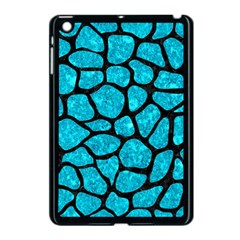 Skin1 Black Marble & Turquoise Marble Apple Ipad Mini Case (black)