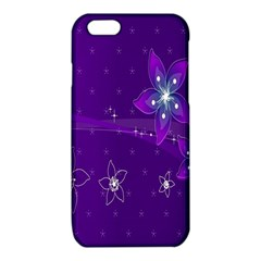 Flowers Purple iPhone 6/6S TPU Case