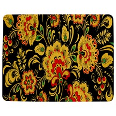Flower Yellow Green Red Jigsaw Puzzle Photo Stand (Rectangular)