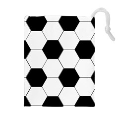 Foolball Ball Sport Soccer Drawstring Pouches (Extra Large)