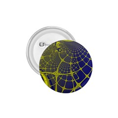 Futuristic Looking Fractal Graphic A Mesh Of Yellow And Blue Rounded Bars 1 75  Buttons