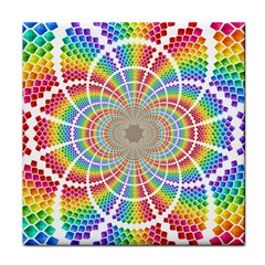 Color Background Structure Lines Tile Coasters