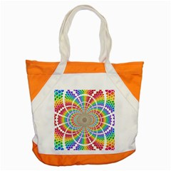 Color Background Structure Lines Accent Tote Bag