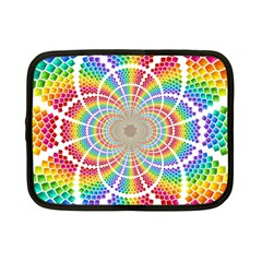 Color Background Structure Lines Netbook Case (small)