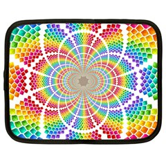 Color Background Structure Lines Netbook Case (large)