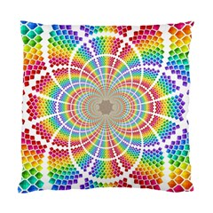 Color Background Structure Lines Standard Cushion Case (two Sides)
