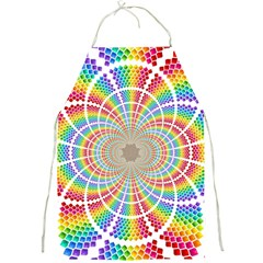 Color Background Structure Lines Full Print Aprons