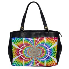 Color Background Structure Lines Office Handbags