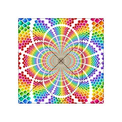 Color Background Structure Lines Acrylic Tangram Puzzle (4  X 4 )