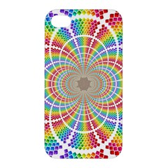 Color Background Structure Lines Apple Iphone 4/4s Premium Hardshell Case