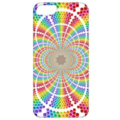 Color Background Structure Lines Apple Iphone 5 Classic Hardshell Case