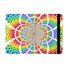 Color Background Structure Lines Apple Ipad Mini Flip Case