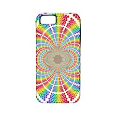 Color Background Structure Lines Apple Iphone 5 Classic Hardshell Case (pc+silicone)