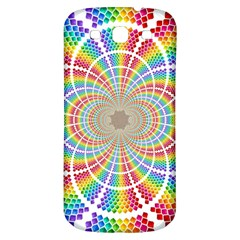 Color Background Structure Lines Samsung Galaxy S3 S Iii Classic Hardshell Back Case