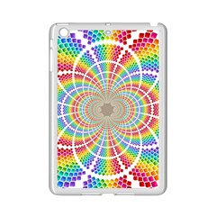 Color Background Structure Lines Ipad Mini 2 Enamel Coated Cases