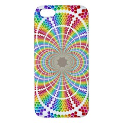 Color Background Structure Lines Apple Iphone 5 Premium Hardshell Case