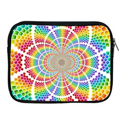 Color Background Structure Lines Apple Ipad 2/3/4 Zipper Cases