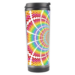 Color Background Structure Lines Travel Tumbler