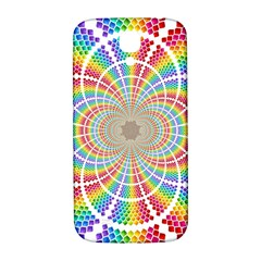 Color Background Structure Lines Samsung Galaxy S4 I9500/i9505  Hardshell Back Case
