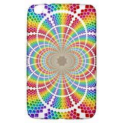 Color Background Structure Lines Samsung Galaxy Tab 3 (8 ) T3100 Hardshell Case