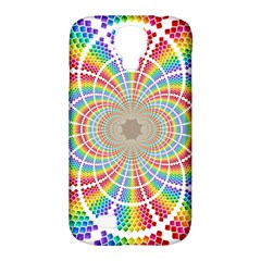 Color Background Structure Lines Samsung Galaxy S4 Classic Hardshell Case (pc+silicone)