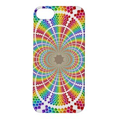 Color Background Structure Lines Apple Iphone 5s/ Se Hardshell Case