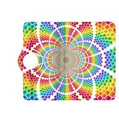 Color Background Structure Lines Kindle Fire Hdx 8 9  Flip 360 Case