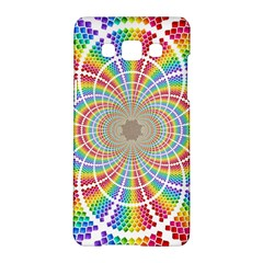 Color Background Structure Lines Samsung Galaxy A5 Hardshell Case