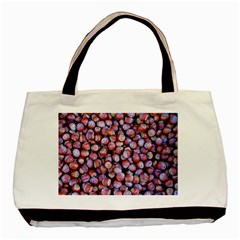 Hazelnuts Nuts Market Brown Nut Basic Tote Bag (two Sides)