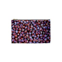 Hazelnuts Nuts Market Brown Nut Cosmetic Bag (small)