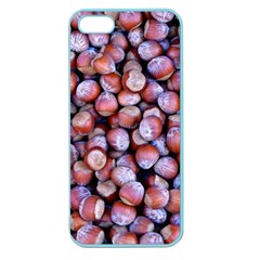 Hazelnuts Nuts Market Brown Nut Apple Seamless Iphone 5 Case (color)