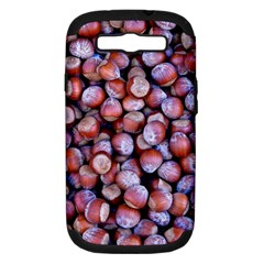 Hazelnuts Nuts Market Brown Nut Samsung Galaxy S Iii Hardshell Case (pc+silicone)