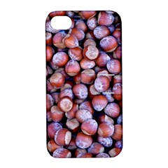 Hazelnuts Nuts Market Brown Nut Apple Iphone 4/4s Hardshell Case With Stand