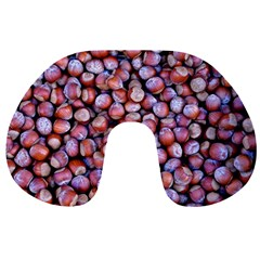 Hazelnuts Nuts Market Brown Nut Travel Neck Pillows