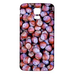Hazelnuts Nuts Market Brown Nut Samsung Galaxy S5 Back Case (white)