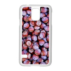 Hazelnuts Nuts Market Brown Nut Samsung Galaxy S5 Case (white)