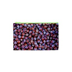 Hazelnuts Nuts Market Brown Nut Cosmetic Bag (XS)